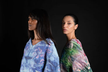 'WeAreAble' 3D printing Kimono collection I 'Linea Pelle' in Milan with Stratasys – Ganit Goldstein